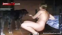 Mature Babe Get Fucked By Dog